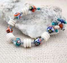 Mexican Design Bracelet  Southwest Jewelry  by TouchOfSilver