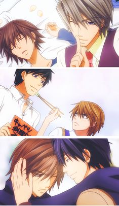 Junjou #Romantica, #Terrorist, and #Egoist LOVE ♡