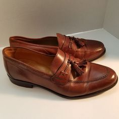 07598553eb1 Johnston Murphy Men s Brown Tassel Loafers Size 10.5 W  15-0780 D-12 India   JohnstonMurphy  LoafersSlipOns  Formal