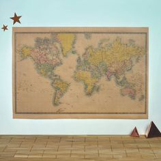 Executive world map canvas print by mapsinternationaluk on etsy world map vintage style poster gumiabroncs Image collections