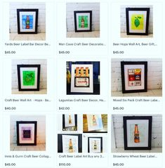 """Happy Hour Collection"" http://etsy.me/2ChfHKp Visit my #etsyshop #handmade #watercolorartist #surfacedesigner #artistsofinstagram…"