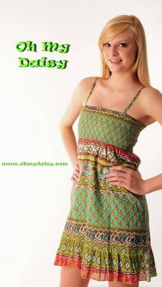 Summer sun dress:  $42.50   S/M/L   (comes with shawl shown in next picture)