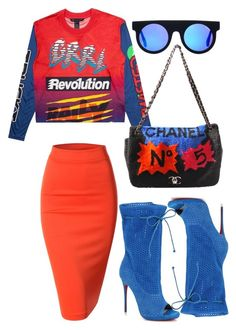 A fashion look from July 2015 featuring Doublju skirts, Christian Louboutin boots and Chanel shoulder bags. Browse and shop related looks. Urban Fashion, Love Fashion, Winter Fashion, Fashion Looks, Womens Fashion, Style Fashion, Chic Outfits, Fashion Outfits, Fashion Trends