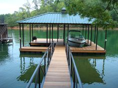 Boat dock ideas Pond Boat Dock Ideas Designs Also Lake Gallery Floating Design Travelinsurancedotaucom Boat Dock Ideas Travelinsurancedotaucom - ixiqi Floating Boat Docks, Lake Dock, Haus Am See, Lakefront Property, Boat Lift, Lake Cabins, River House, Rustic Design, Cottage