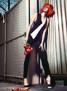 Eccentric Gothic Editorials - The Fashion Gone Rogue Fine Frenzy Stars a Chanel-Clad Ursula Kim (GALLERY)