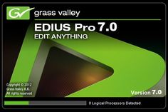 Eduis pro 7 Crack Patch and Serial Key Free Download EDIUS PRO 7 is a software and can edit your videos in a specialized method into straight forward.enjoy