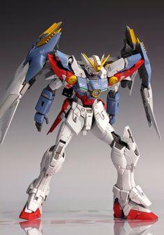 MG 1/100 Wing Gundam Proto Zero Custom Build - Gundam Kits Collection News and Reviews