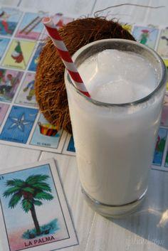 Coconut Horchata / Horchata de Coco Recipe (girlichef)