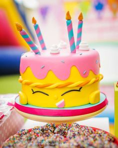 Shopkins Birthday Party | CatchMyParty.com