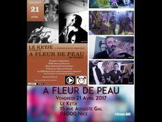 Cote D'Azur Nice Live A Fleur de Peau au Ketje Café Concert – Video Photo Musique Reportage Cannes Cote d'Azur PACA
