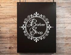 vinilos adhesivo barbershop