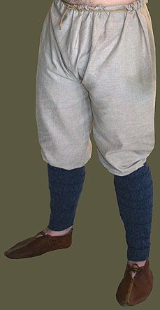 Sca Garb   10th- 11th century Linen Early Medieval/ Viking Pants