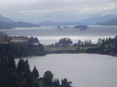 Vista del hotel Llao Llao