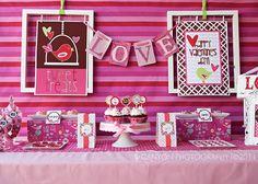 """""""Sweet Tweet"""" Valentine's Party from @Nancy A To Zebra Celebrations"""