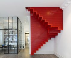 Elvaston Place by Webb Yates Engineers  Inspired by 'Staircase III' by Do-Ho Suh, a recent installation at Tate Modern.