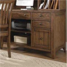 Liberty Furniture Hearthstone Computer Credenza - 382-HO121