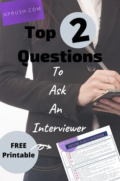 Top 2 Questions to Ask At An Interview Questions To Ask Employer, Fun Questions To Ask, What If Questions, Interview Questions, Interview Tips For Nurses, Becoming A Nurse Practitioner, Np School, Health Care Policy, New Nurse
