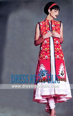 Red White Carlos, Product code: DR3524, by www.dressrepublic.com -