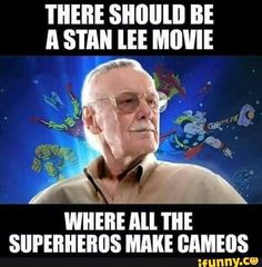 Burst with excitement! STAN THE MAN LEE!!!!