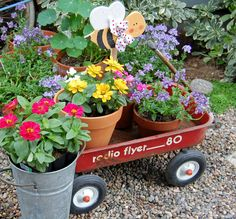 I still have my little red wagon - thinking I might have to do something similar
