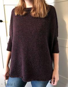 Il y a quelques temps, Lise Tailor présentait une série de pulls Boxy : il s'agit d'un pull large, tricoté en petites aiguilles. Sa première version était très chouette mais je n'…