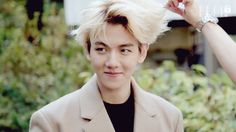 151117 ELL3TV Baekhyun Photoshoot Making