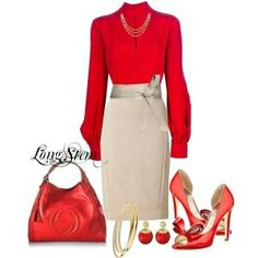 Red fashion idea's