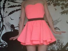 Here's the front view of the custom-order party dress.  Just love this!