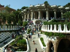 Parc Guell: What a beautifull place in Barcelona City. I <3 Bcn!