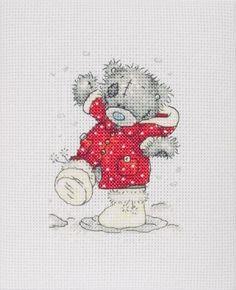 Christmas Coat - Tatty Teddy Cross Stitch Kit  by Anchor