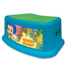 Nickelodeon Bubble Guppies Step Stool - BedBathandBeyond.com $9.99