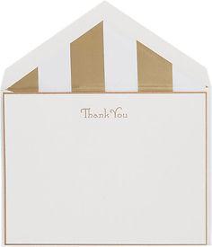 Connor Thank You Card Set -  - Barneys.com