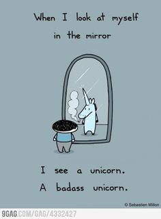 a badass unicorn