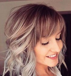 18 Short Curly Haircuts with Bangs 2017
