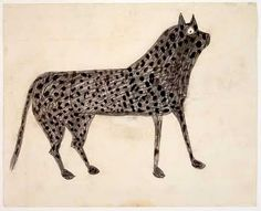 Bill Traylor Spotted Dog
