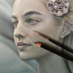 Detail of a new piece for an upcoming group show with @thinkspace_art :) #pencil #panpastel #acrylic #thinkspacefamily #thinkspacegallery #becwinnel