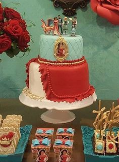 Elena of Avalor cake