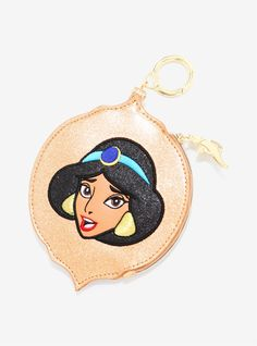 NWT Danielle Nicole Princess Jasmine Zip Around Wallet Aladdin 25th Anniversary