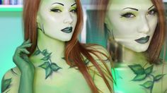 Poison Ivy Makeup Tutorial