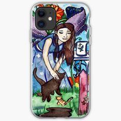 Garden of the Blue Fairy iPhone Soft Case Fairy Paintings, Green Paintings, Fantasy Paintings, Fantasy Art, Summer Tunes, Male Fairy, Fairy Queen, Green Art, Fairy Art