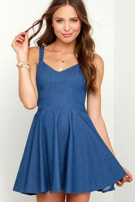 Cute Blue dress