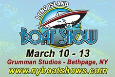 The Long Island Boat Show is returning to Long Island for 2016, and will be bigger & better than ever before at its new location in Bethpage, Grumman Studios! In addition to even more boats and products than ever before, this year will also have plenty of events and activities especially for kids, making the show a true family affair! You'll find dates, prices, and additional info at the link!