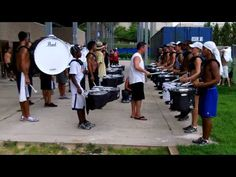 Blue Devils Drum Line 2011 - Solo Run Through the Snare Break ATL - Snare Lines