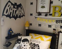 Interiors by Mandy - batman wall decal sticker - vivid wall decals