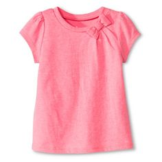 Toddler Girls' Cap Sleeve Tee with Bow http://couponcodezone.com/stores/target/