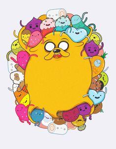 Adventure Time Shirt Designs by Nico Encarnacion, via Behance