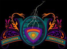 -- DESPUÉS DE UNA TORMENTA... / AFTER THE STORM...  #diseñooriginal FLIP #originaldesign  Patrón #retro simétrico, representa una conocida frase: Después de la #tormenta viene la #calma.  Creación FLIP creation:  Retro symmetrical pattern, representing a well-known phrase: After the #storm comes the #calm. Original FLIP design.  Tienda online store: https://www.latostadora.com/flip_original_designs/ #colorido #colorful #retro #símbolo #symbol #pattern #frase #phrase #rayo #sun #sol…