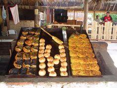 Sonso, empanadas de arroz y cuñapés... Delicias de la gastronomía del oriente boliviano (foto de @Pablo Sánchez Kohn )