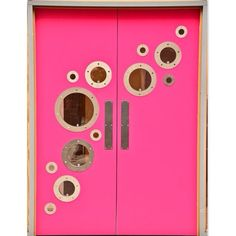 || Pink with portholes | Good Vibes Fitness Centre, London || #door #doordesign #pink #inspiration #instainteriors #instadesign #design #creative #london #commercialdesign #colour #interiordesign #architecture #interiors #insideologyid