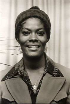 1972 - Dionne Warwick on the set of Morecambe and Wise TV show in London, England.